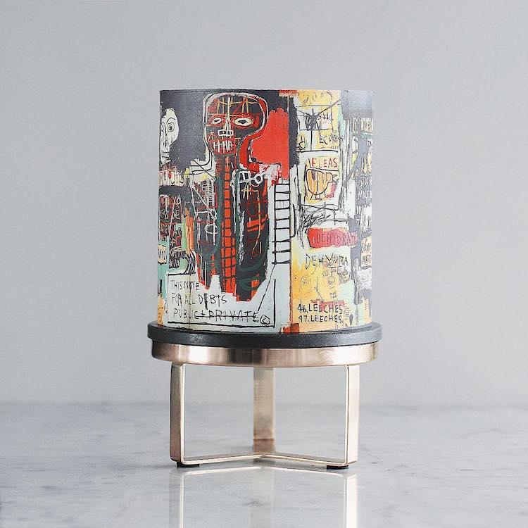 Pastel de Basquiat por Tortik Annushka