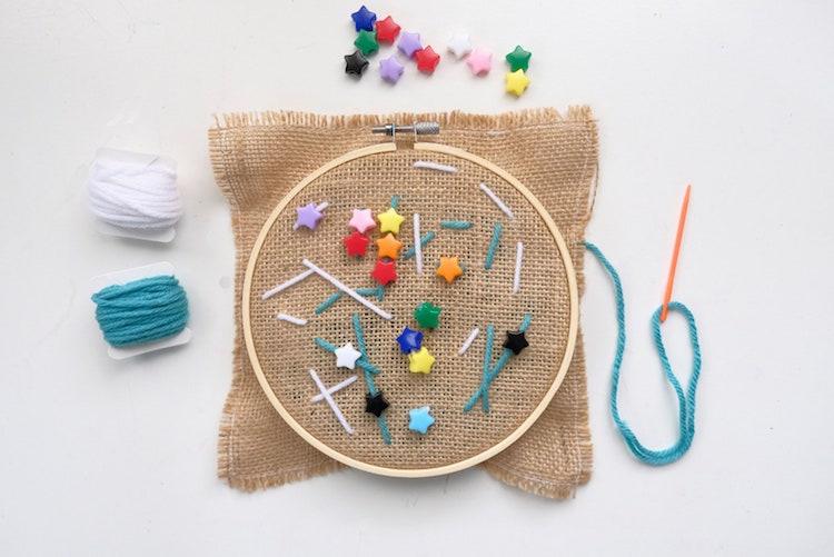 Children's Bead Sewing Kit