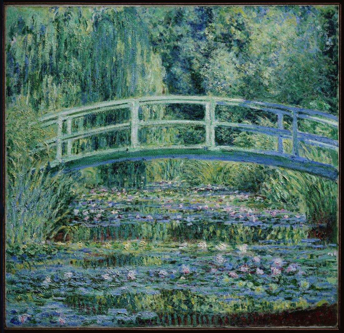 puente japonés de Monet