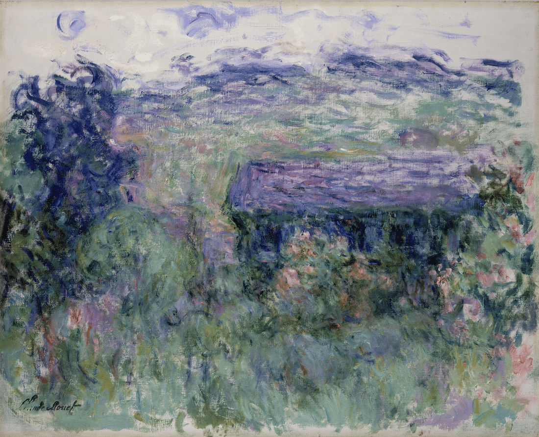 Pintura de la exposición de Monet en el Museo de Arte de Denver