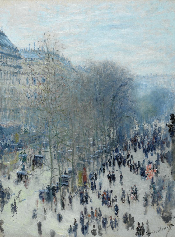 Boulevard des Capucines de Claude Monet