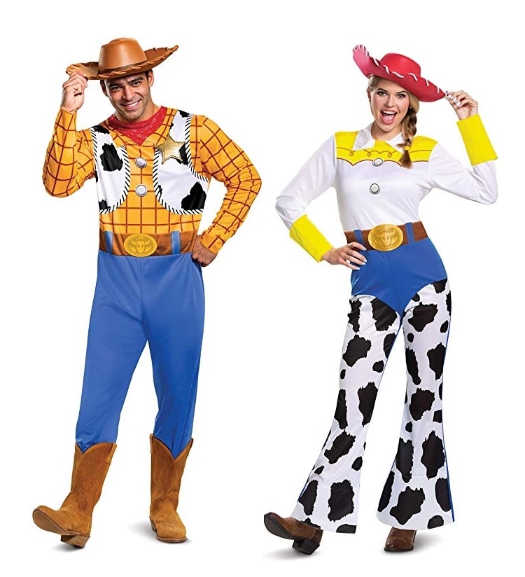 Toy Story Halloween Costume for Couples