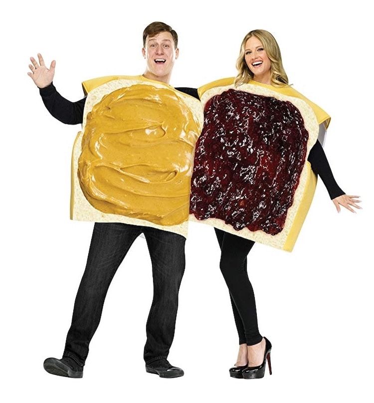Peanut Butter and Jelly Couples Costume for Halloween