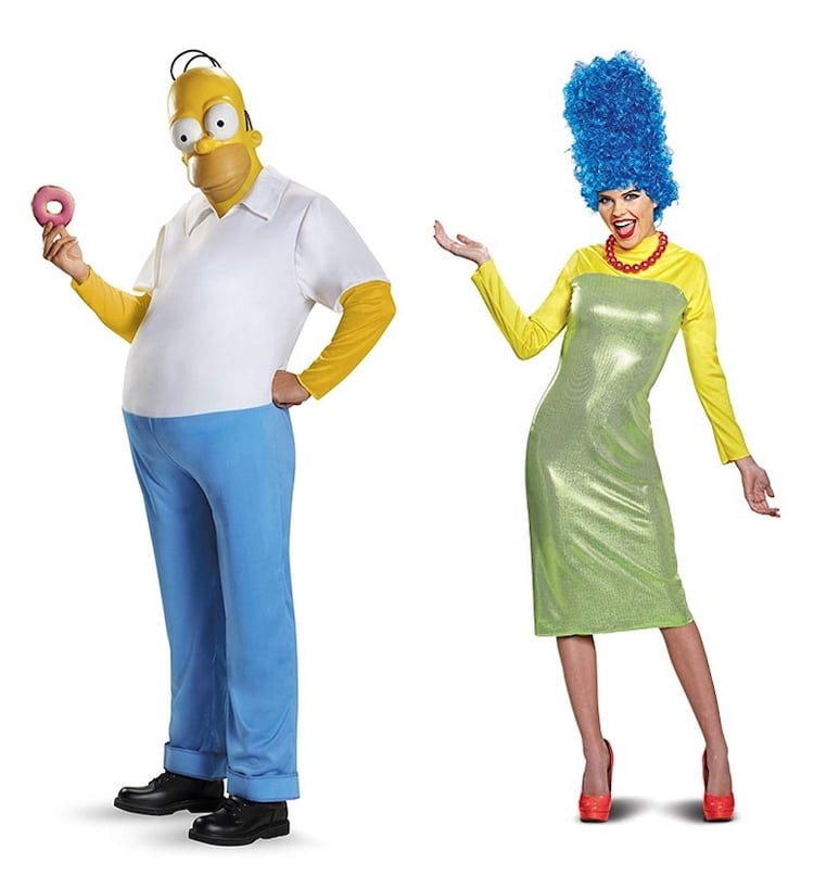 Homer and Marge Simpson Costumes