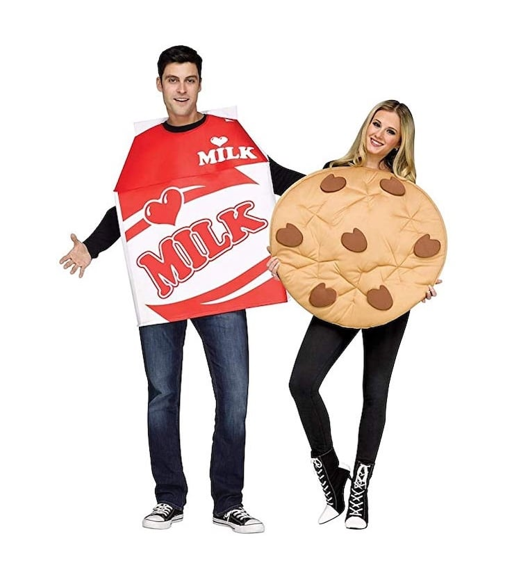Cookies and Milk Couples Costume for Halloween