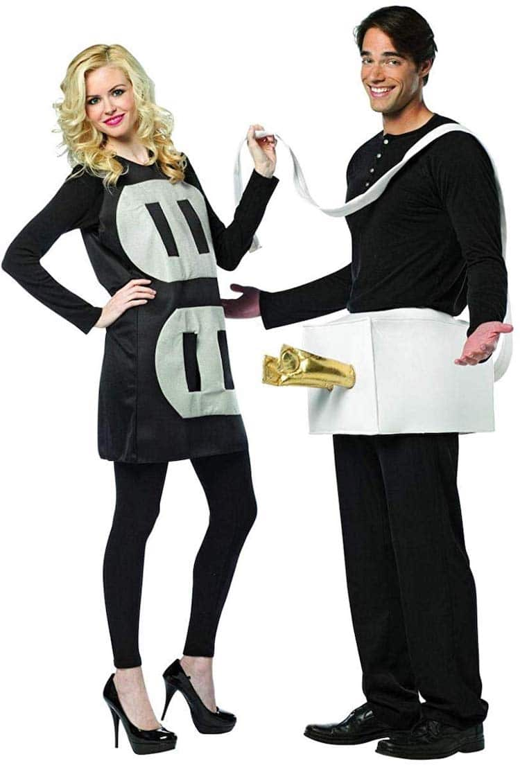 Plug and Socket Halloween Costume for Couples