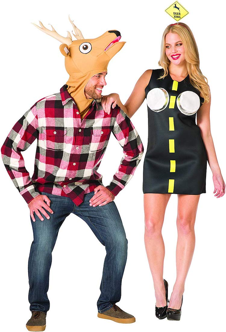 Funny Halloween Costume for Couples