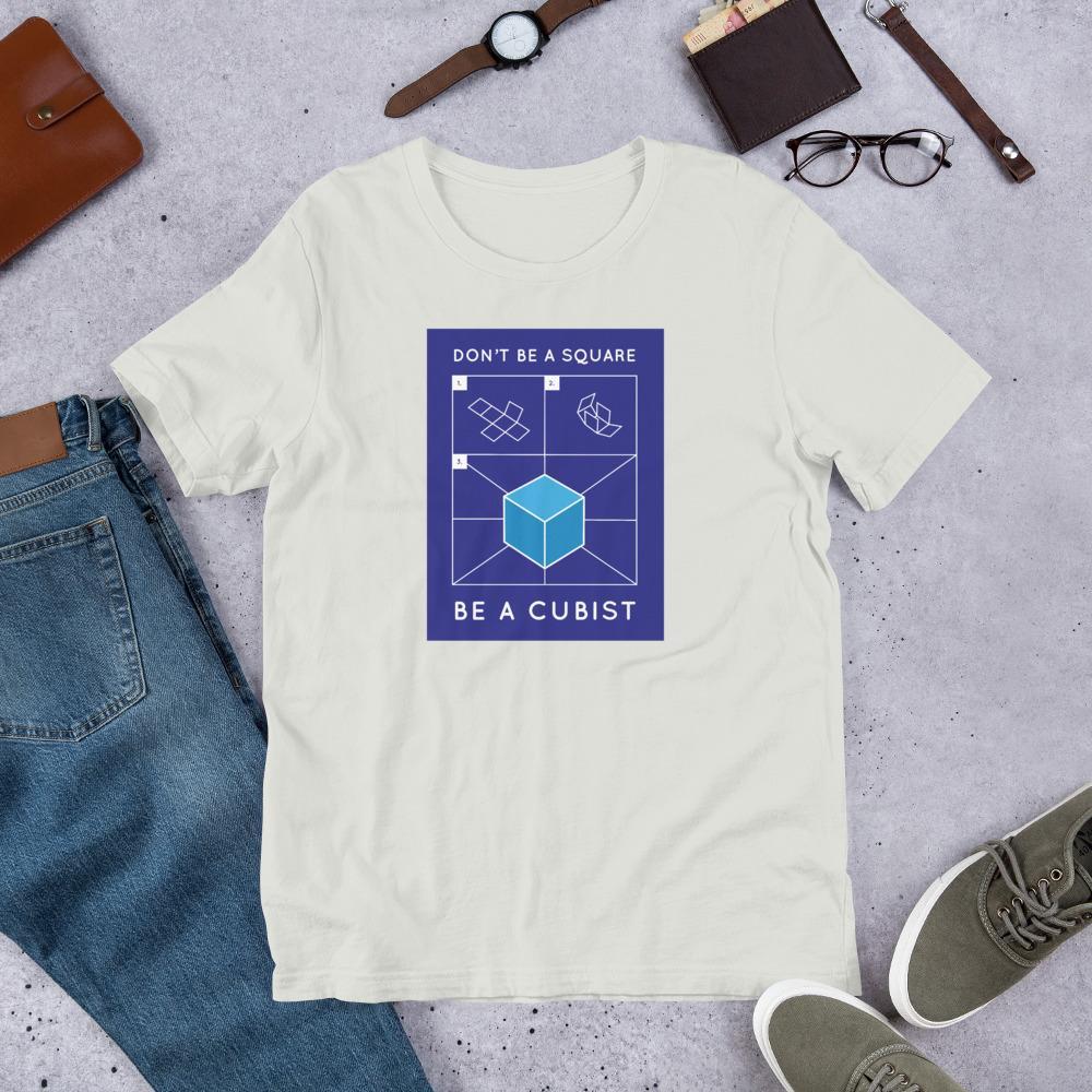 Camiseta cubista