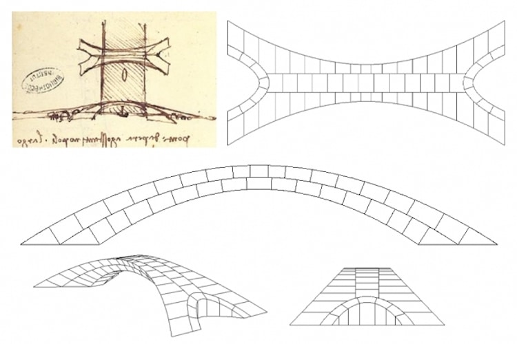 Leonardo Da Vinci LongestBridge Design