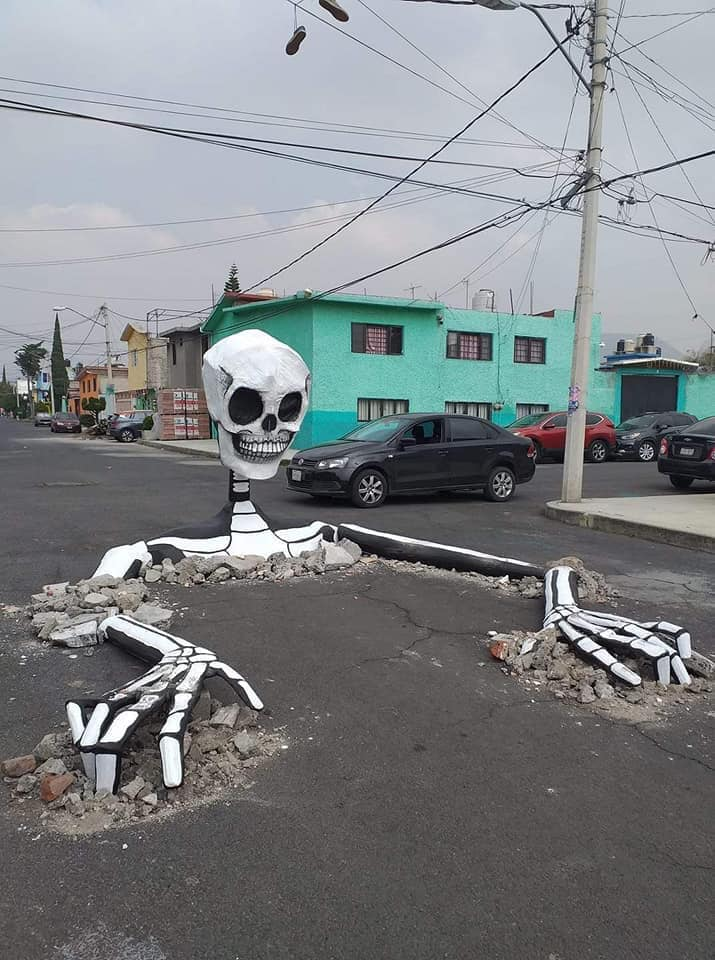 Day of the Dead Skeleton in Mexico by Jaén Cartonería