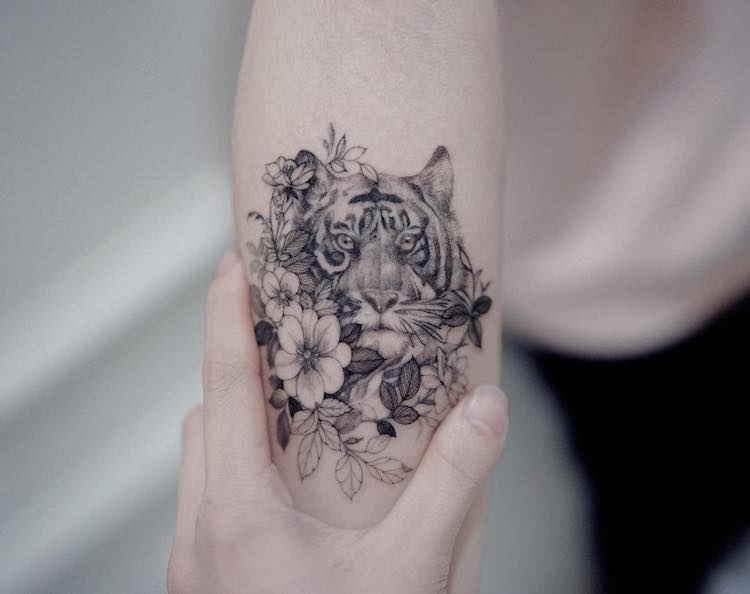 Fine-Line Tattoos