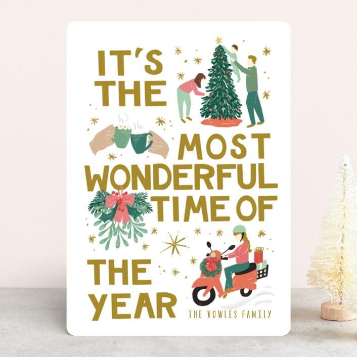 Unique Holiday Card