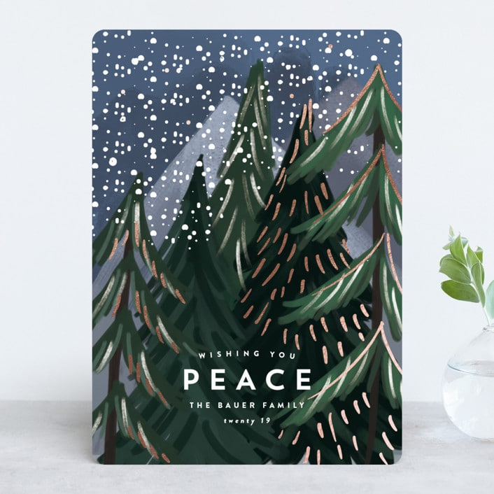Foil Pressed Holiday Cards