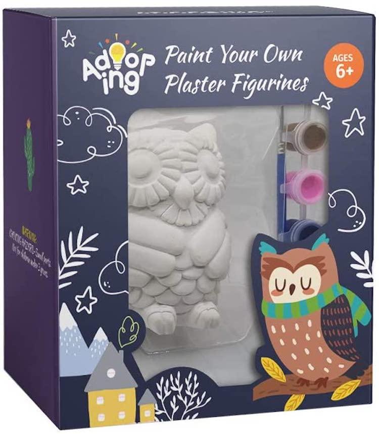 DIY Ceramic Owl Kit