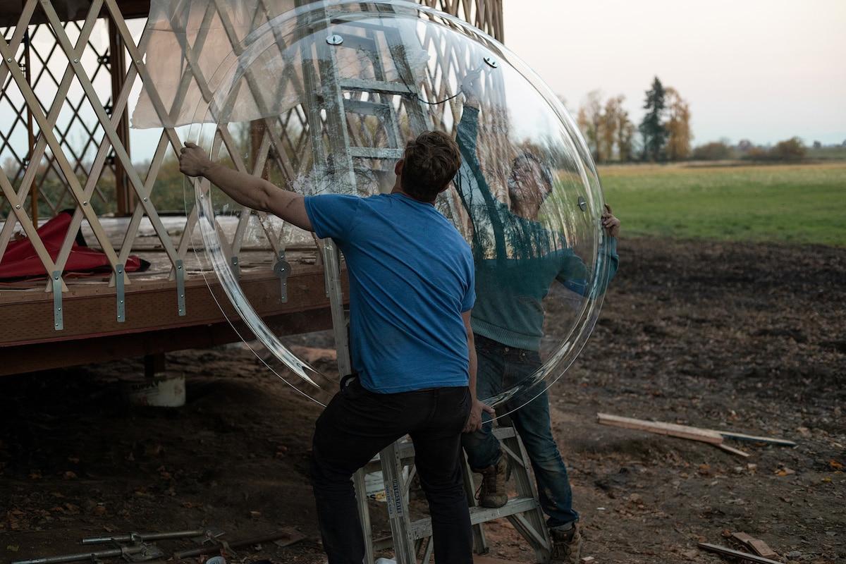Yurta moderna