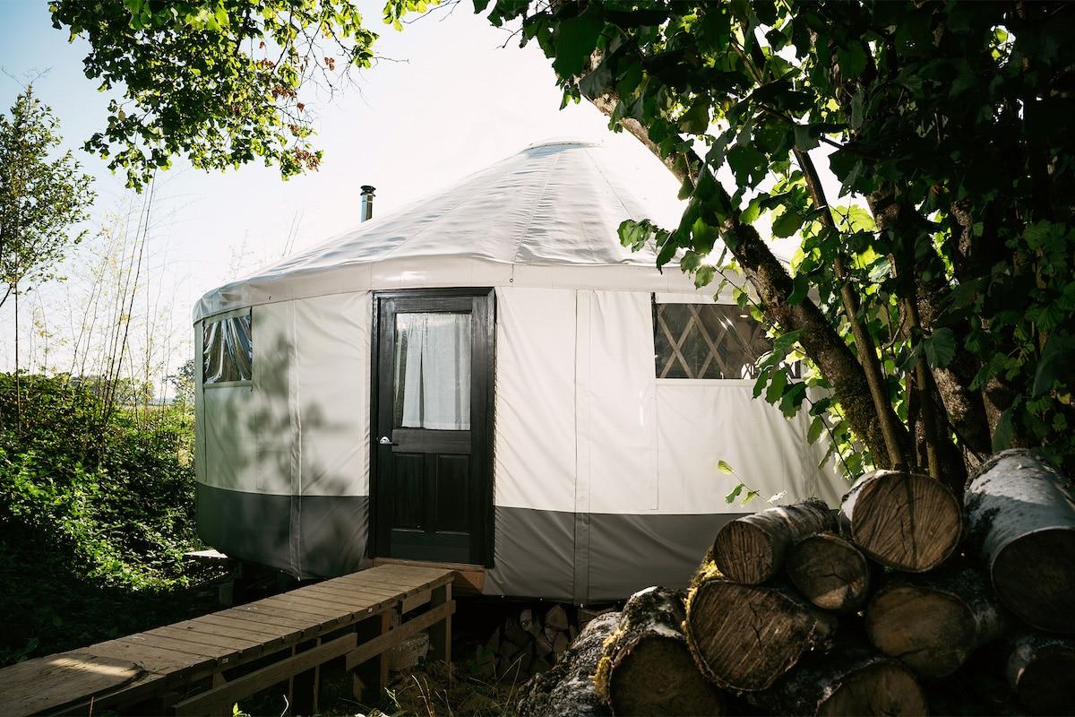 Yurta moderna DIY