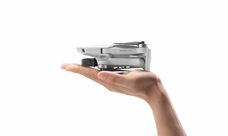 DJI Mavic Mini dron más pequeño y ligero