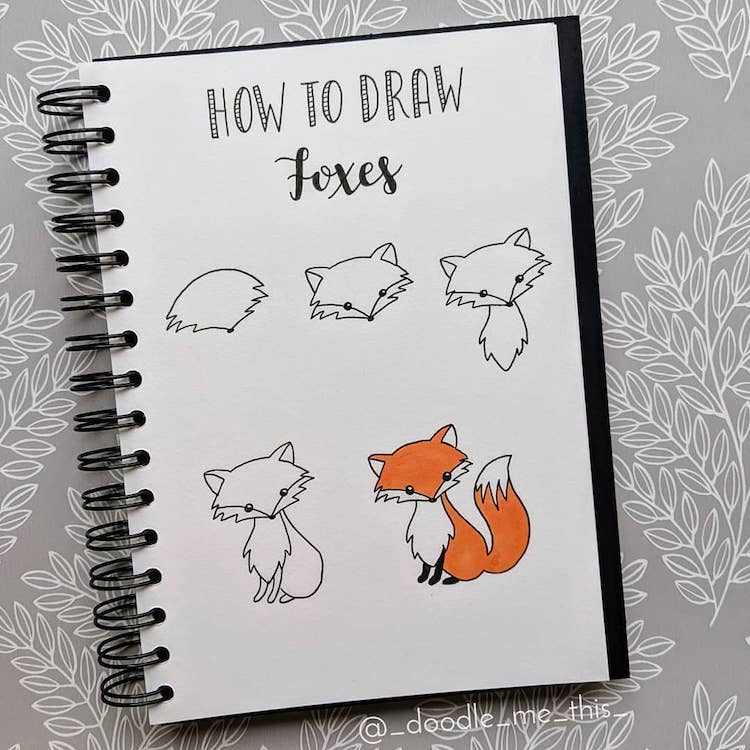 Learn How to Draw Your Favorite Things with These Simple Drawing Tutorials