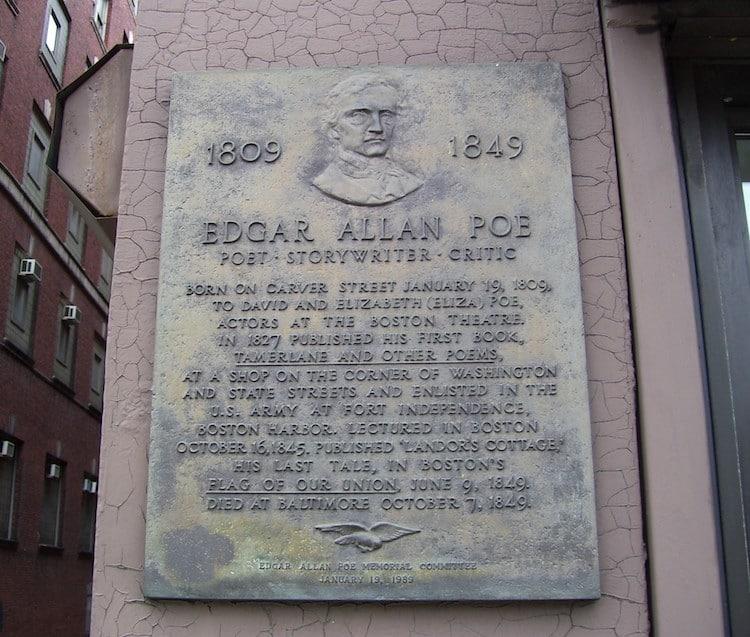 Edgar Allan Poe Birthplace