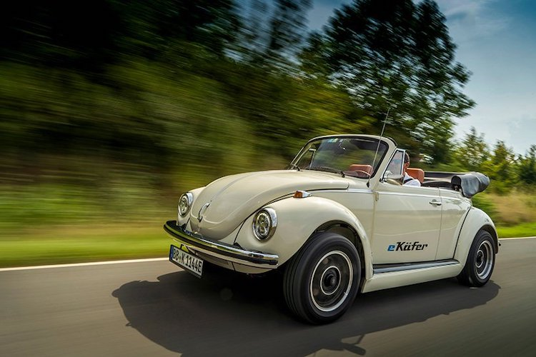 Classic Volkswagen Beetle Made Electric