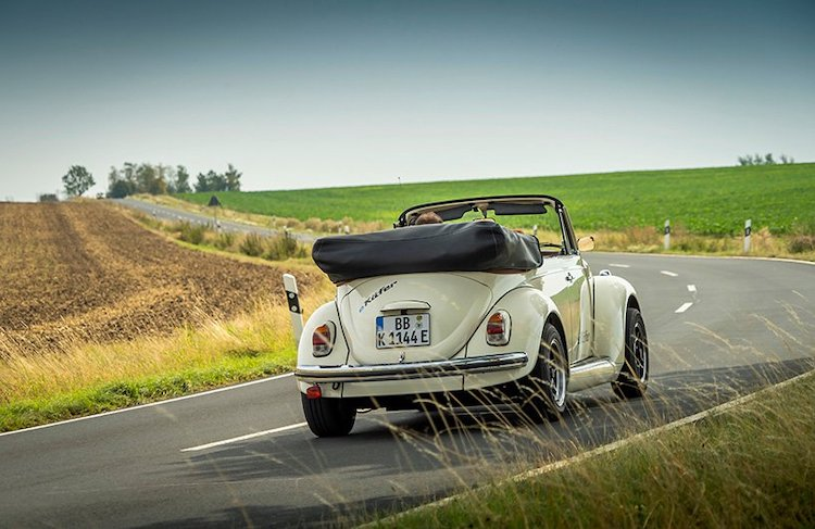 Classic VW Beetle Made Electric