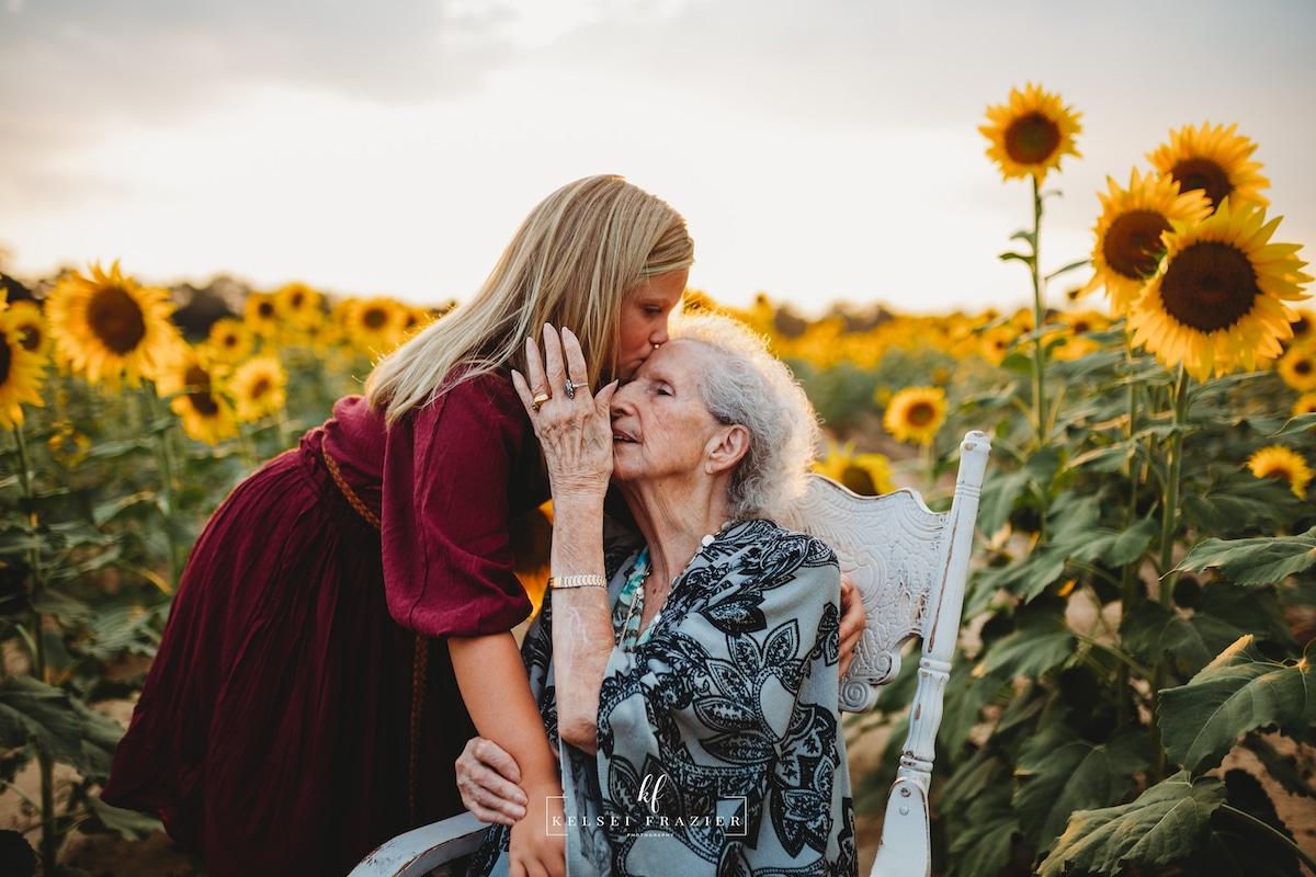 Fotos de familia en generaciones
