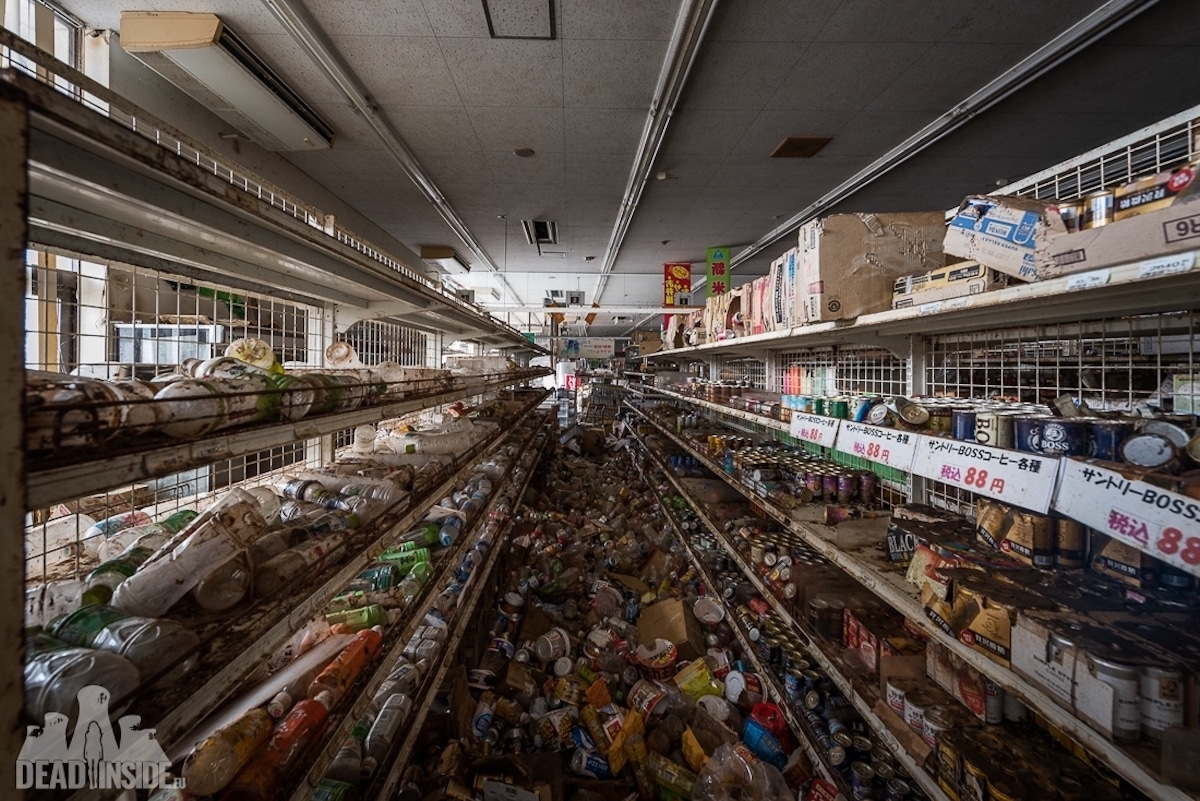 Empty Supermarket in Fukushima