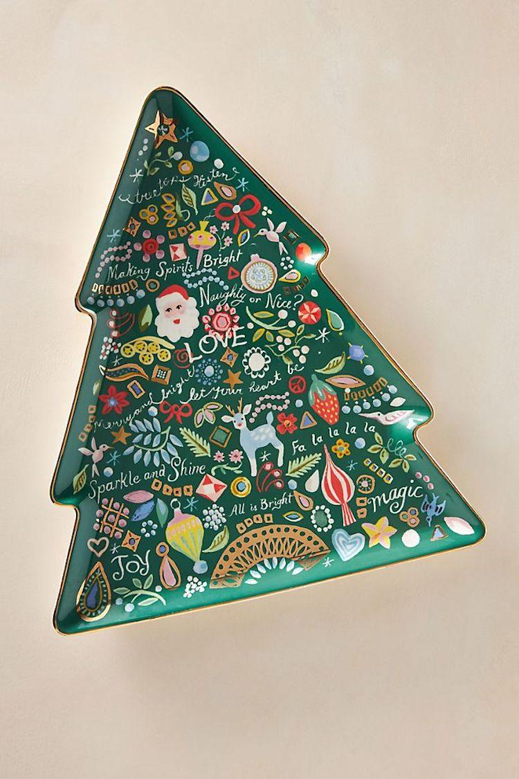 Treetops Glisten Platter