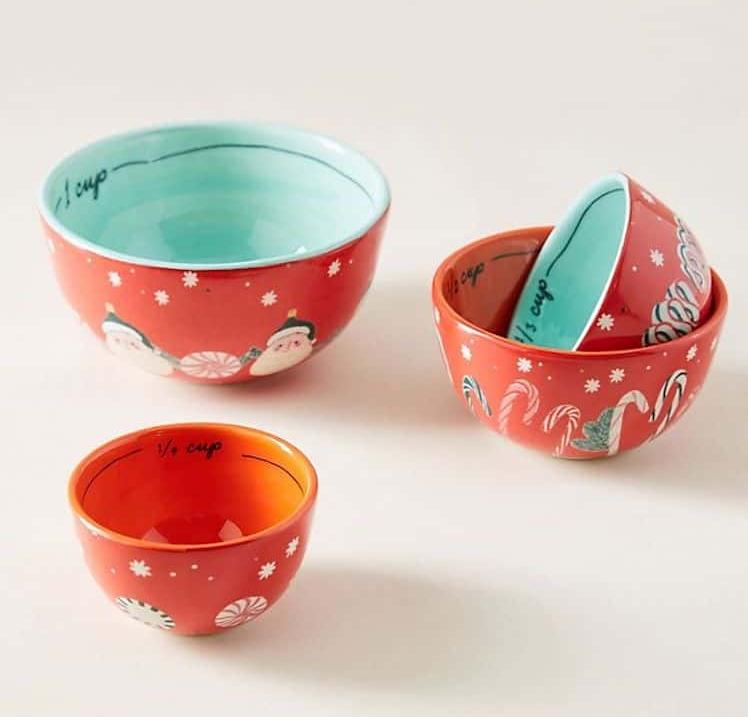 Tazas medidoras de cerámica