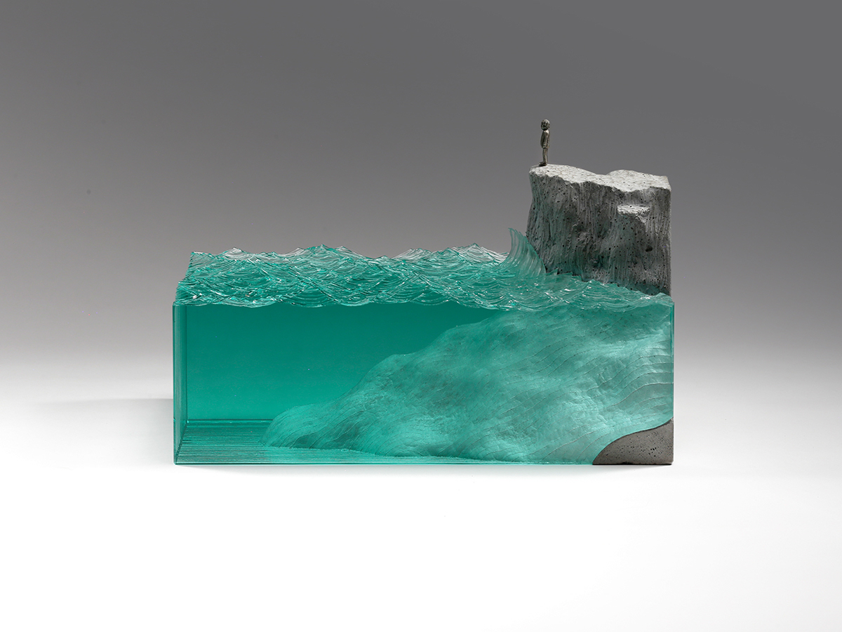 Work by Glass Sculpture Artist Ben Young