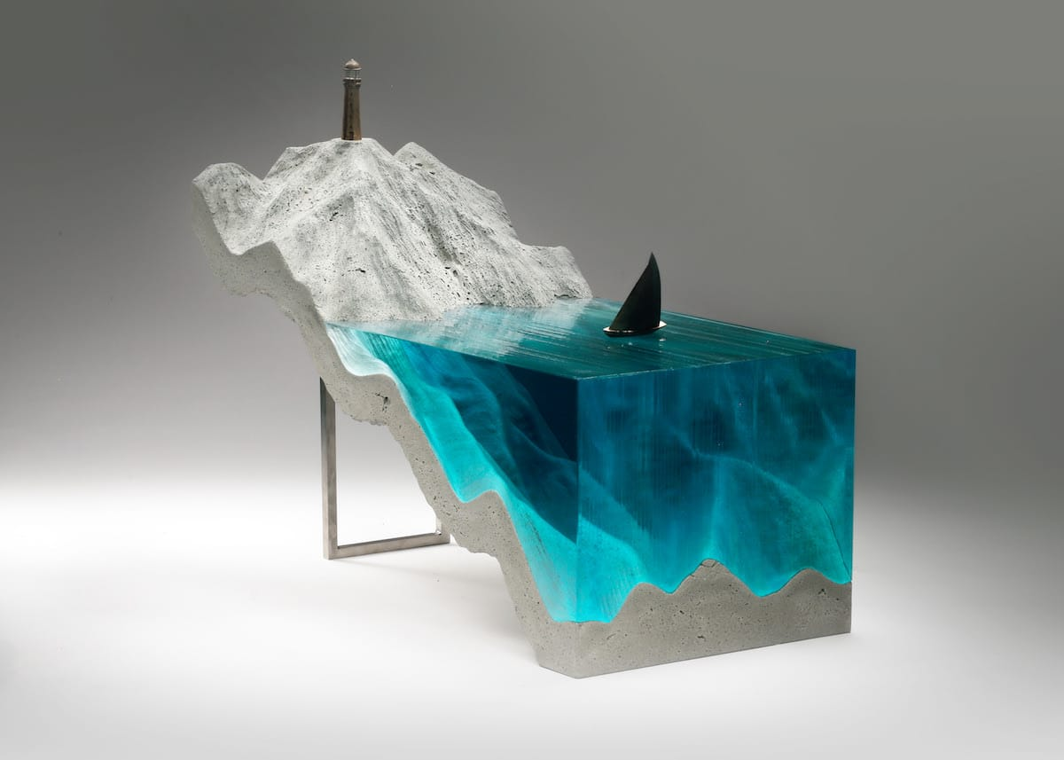 Sculpture Made of Glass by Ben Young