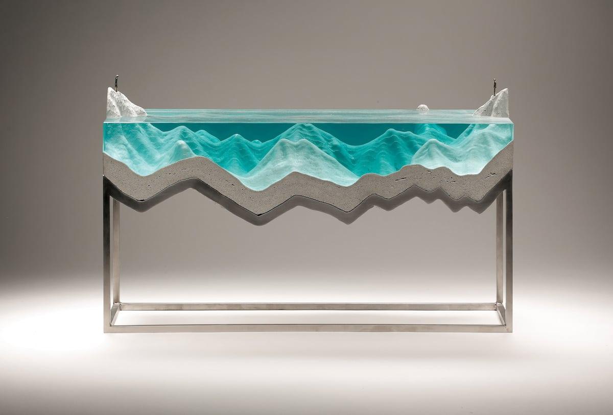 arte inspirado en el océano por Ben Young