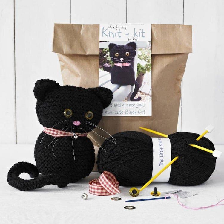Cat Knitting Kit
