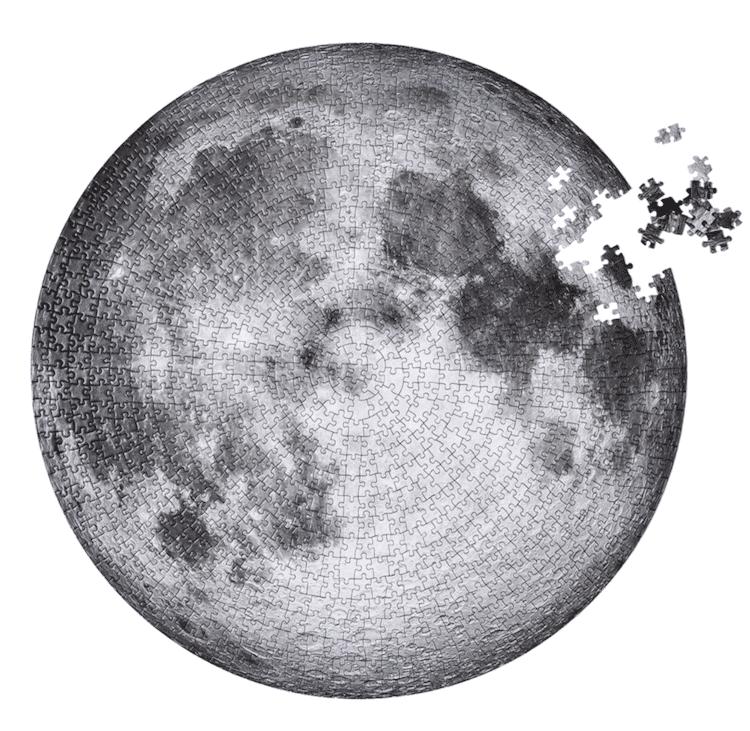 Rompecabezas de luna