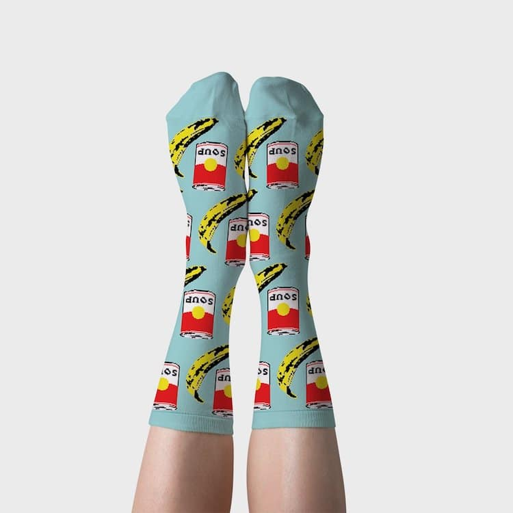 Pop Art Inspired Socks