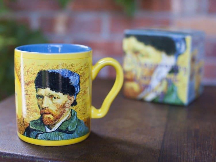 taza de Van Gogh