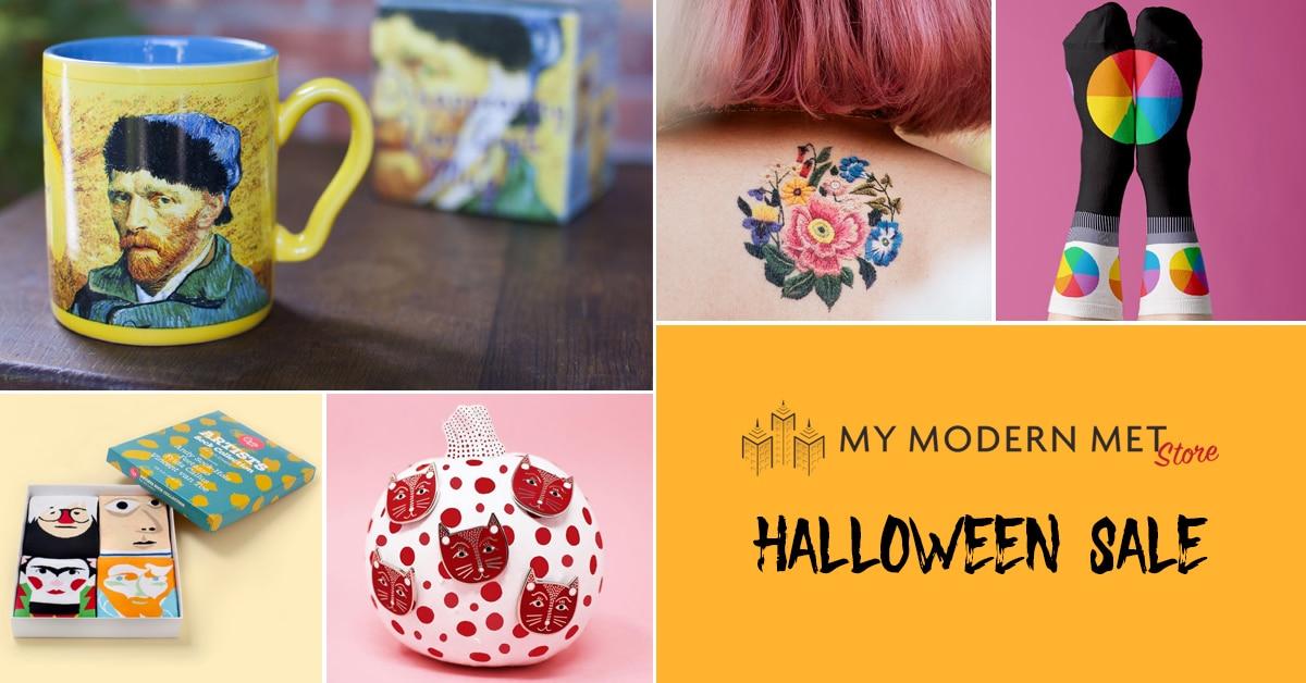 halloween descuentos en My Modern Met Store