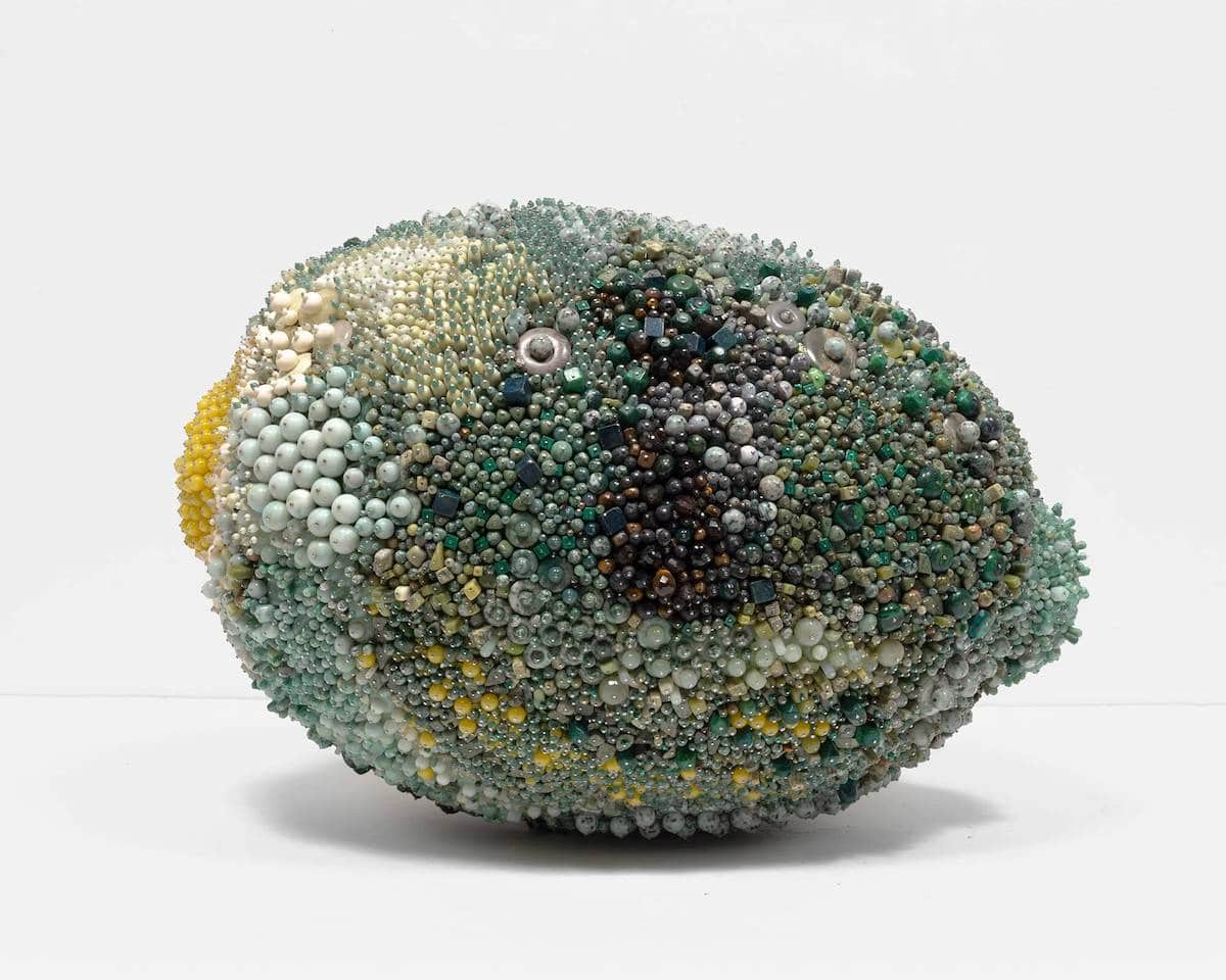 Bead Fruit Art by Kathleen Ryan