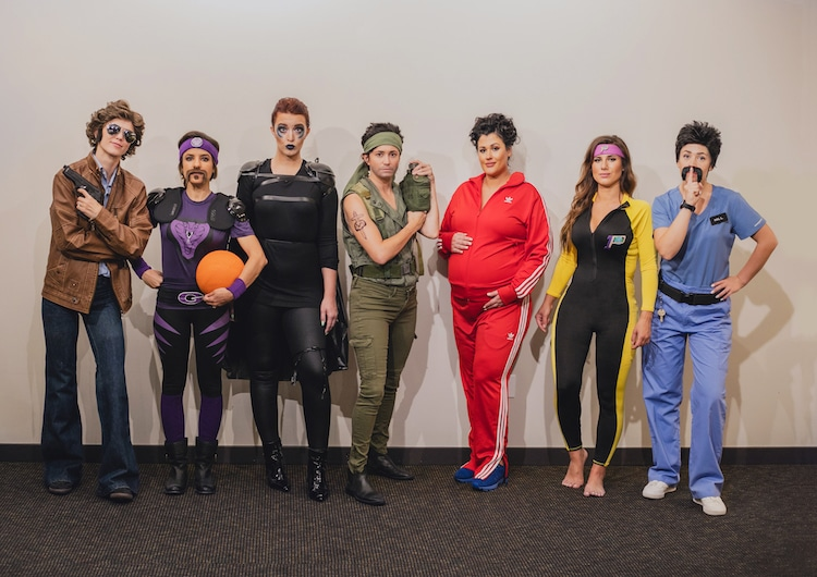 Best Group Halloween Costumes of Ben Stiller