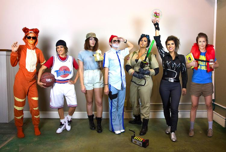 Large Group Halloween Costumes of Bill Murray