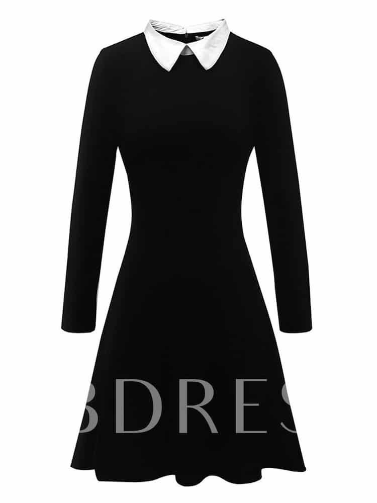 Black Dress for Wednesday Addams Costume