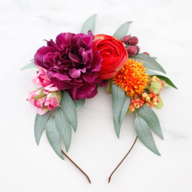 Frida Kahlo Flower Crown