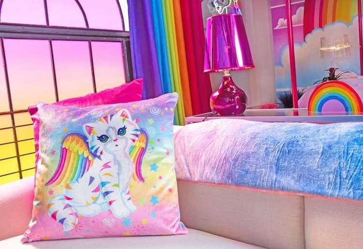 habitación de hotel de Lisa Frank