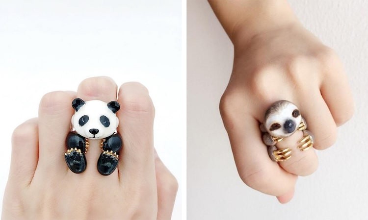 Mary Lou Animal Rings