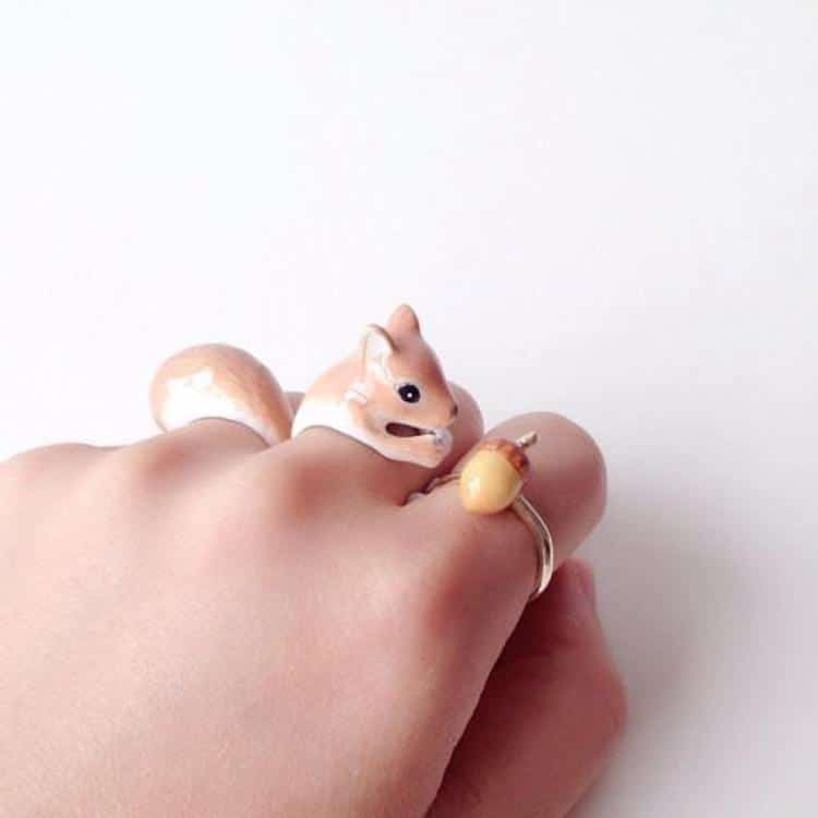 Mary Lou Squirrel Ring