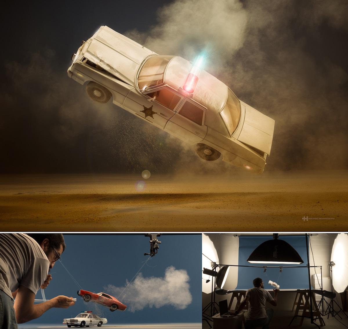 Miniature Scenes Digital Art Photography by Felix Hernandez
