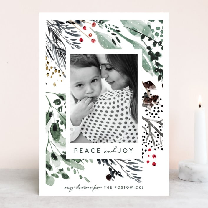 Minted Custom Holiday Cards