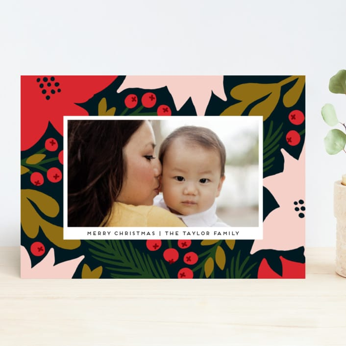 Holiday Photo Card from Minted