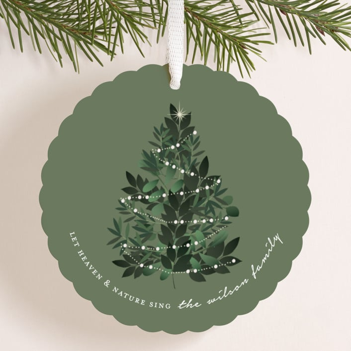 Christmas Cards That Are Ornaments