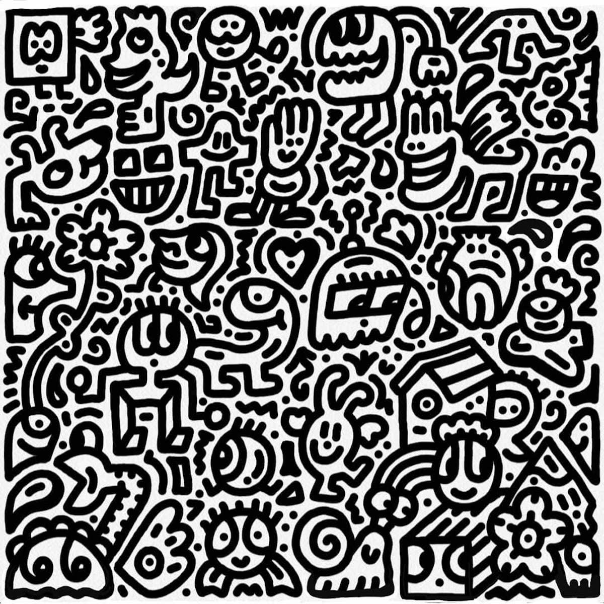Mr. Doodle Art
